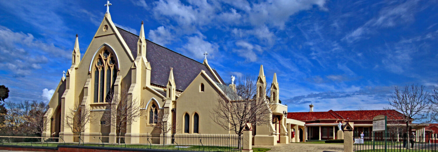 Catholic Cathedral Parish Sale.  47 Foster St, Sale (03) 5144 4100